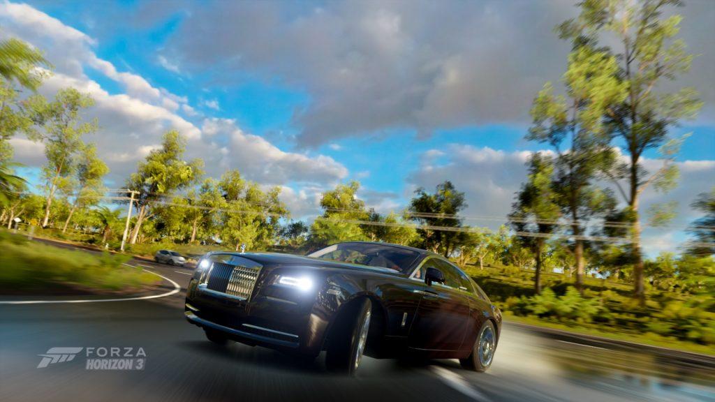 Boys drift a Nissan Silvia, or a Mazda RX-7. Men dirft a British mansion.